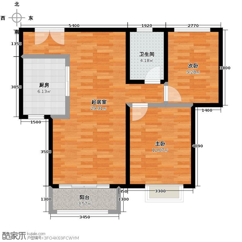 北京新天地92.27㎡三期23#C-C反户型10室
