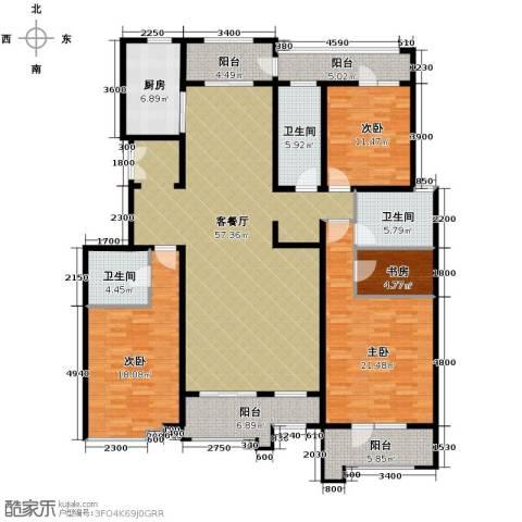 梧桐府3室2厅3卫0厨201.00㎡户型图