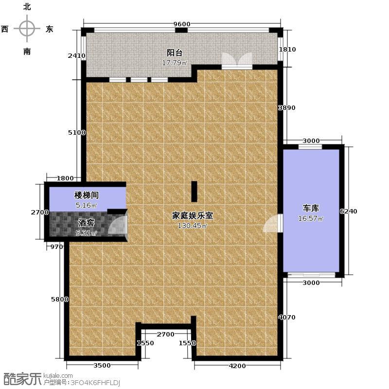 拉斐水岸175.92㎡11期A7庭院层户型10室