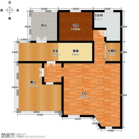 晟煜东湖湾1室0厅1卫0厨130.66㎡户型图
