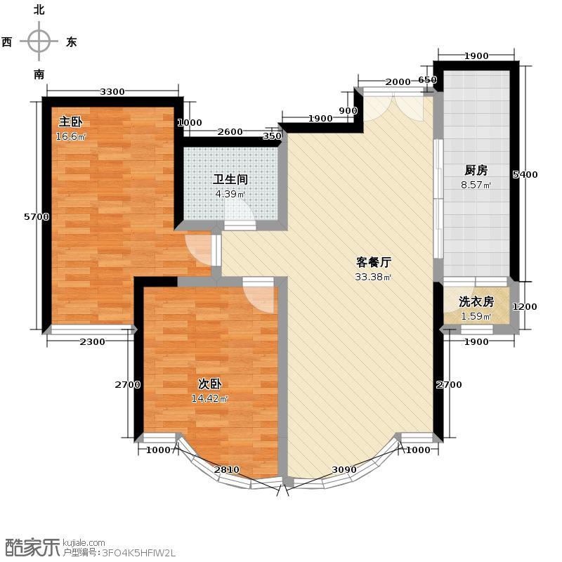 东湖湾114.22㎡311-1-2户型10室