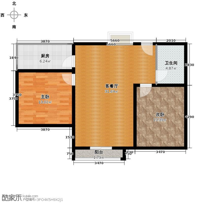 中国窗78.86㎡C2A/户型10室