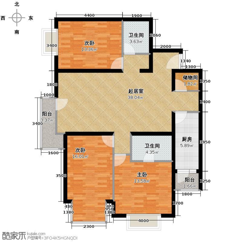 cago寓所130.24㎡B户型10室