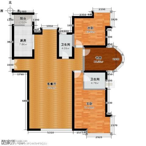 海河大道宽景公寓170.00㎡户型图