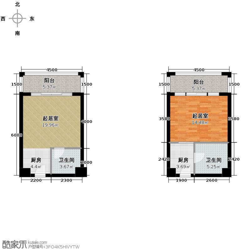 东原189129.54㎡2、19号楼2-11层户型10室