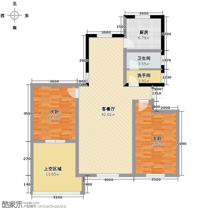 曲院风荷111.00㎡A2-5户型10室