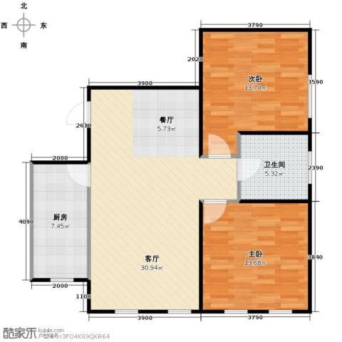 智造创想城2室2厅1卫0厨97.00㎡户型图