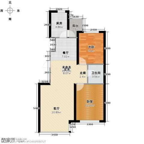 中金名筑1室0厅1卫1厨95.00㎡户型图