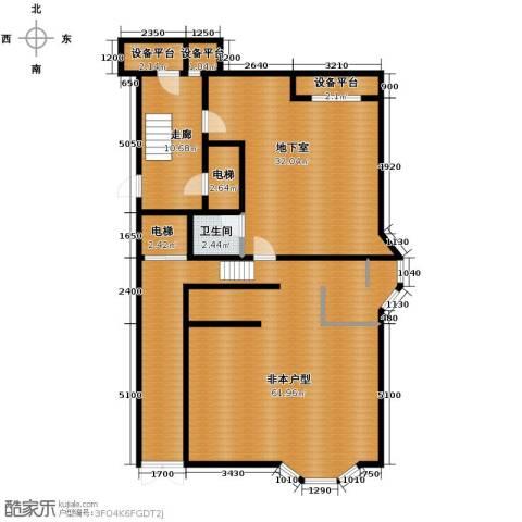 华瀚净月公馆4室2厅3卫0厨220.00㎡户型图