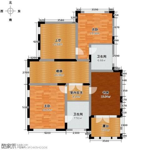 康城暖山3室0厅2卫0厨110.00㎡户型图
