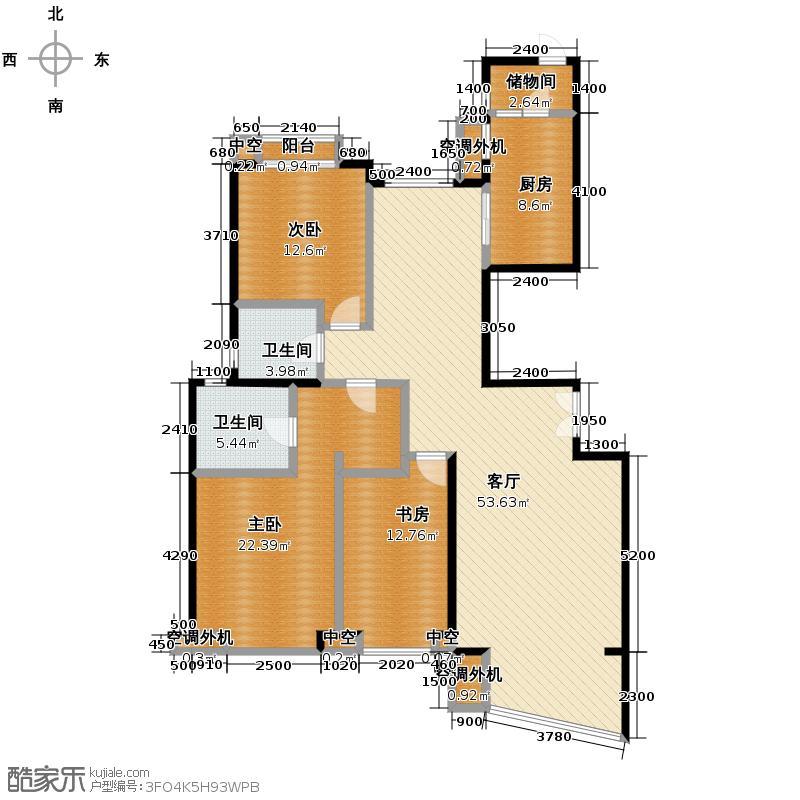 东湖湾172.01㎡309-2-1户型10室