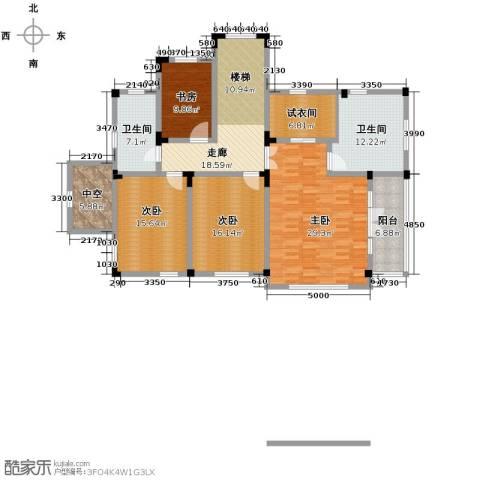 汀香别墅二期4室0厅2卫0厨396.00㎡户型图