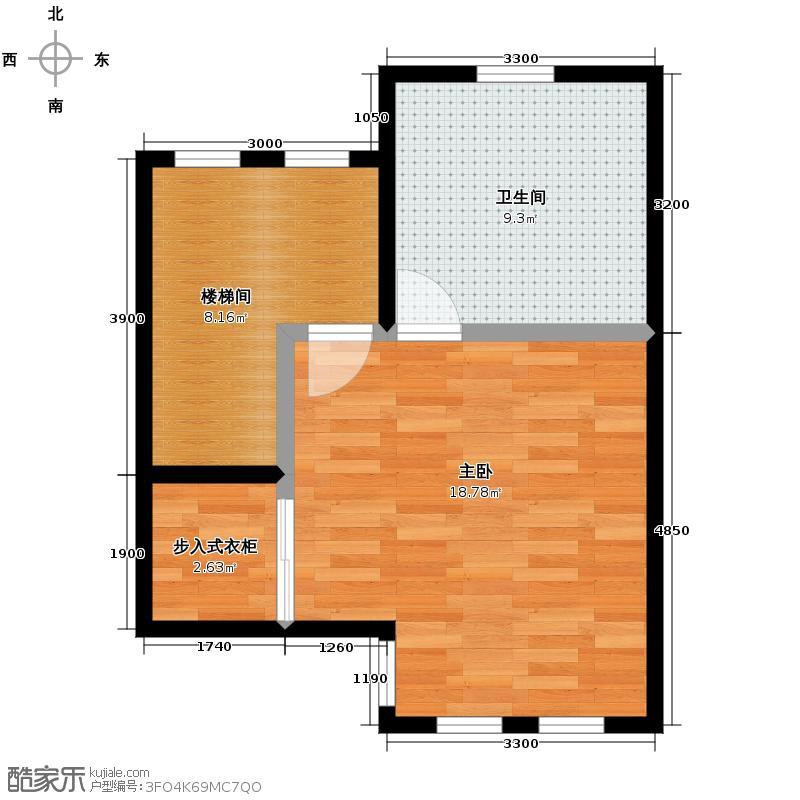 首创国际半岛195.00㎡H1三层户型10室