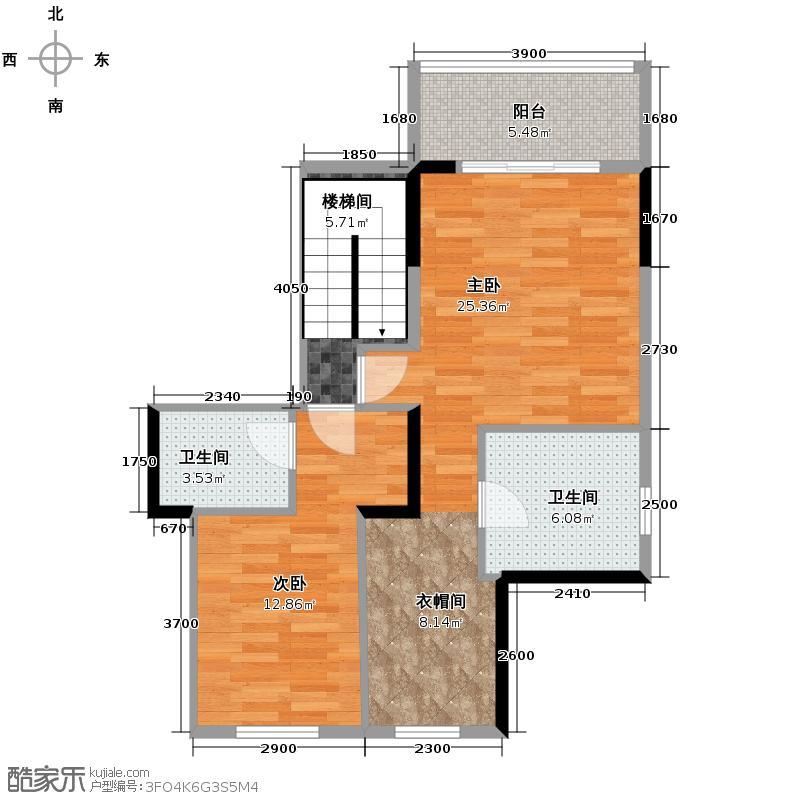 和黄懿花园189.00㎡豪华复式3套房户型4室2厅4卫