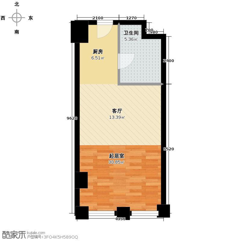 中国窗41.16㎡A户型10室