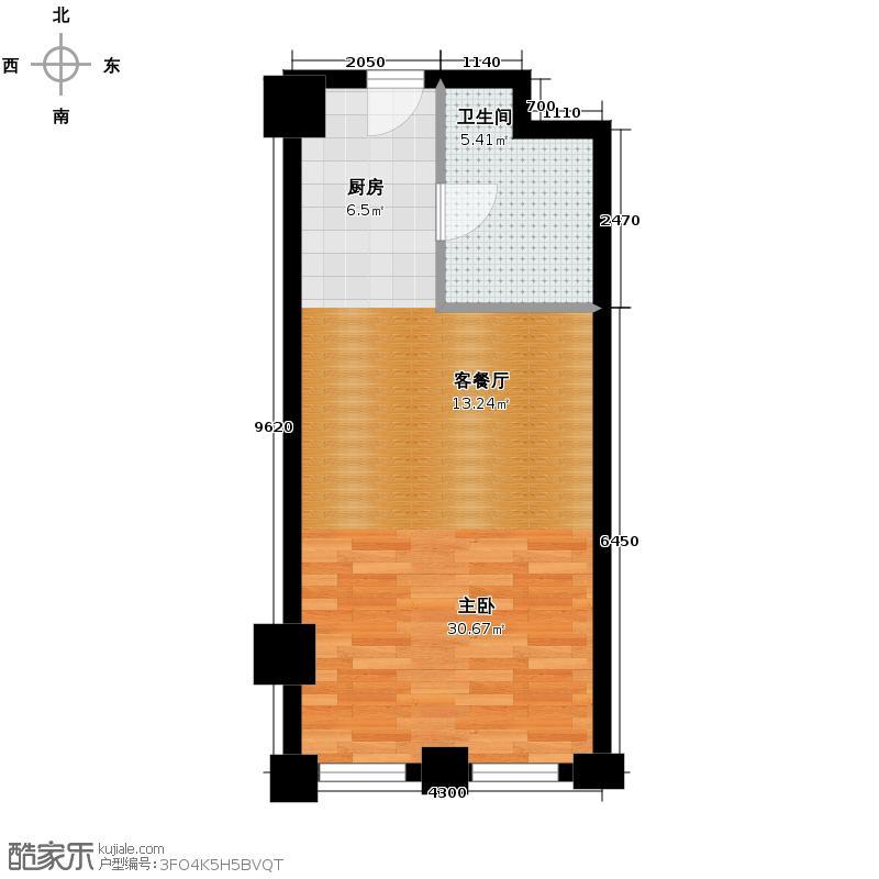 中国窗40.59㎡A户型10室