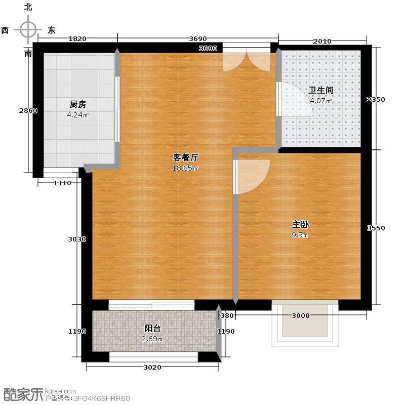 北京新天地63.59㎡38C-C反户型10室