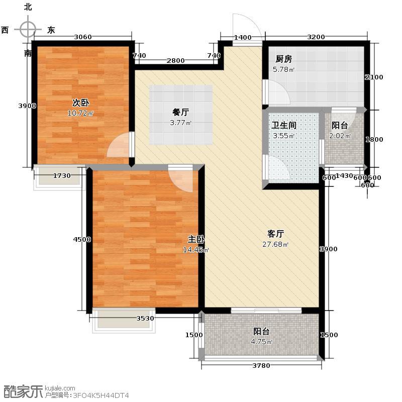 龙城铭园国际社区138.50㎡I1户型10室