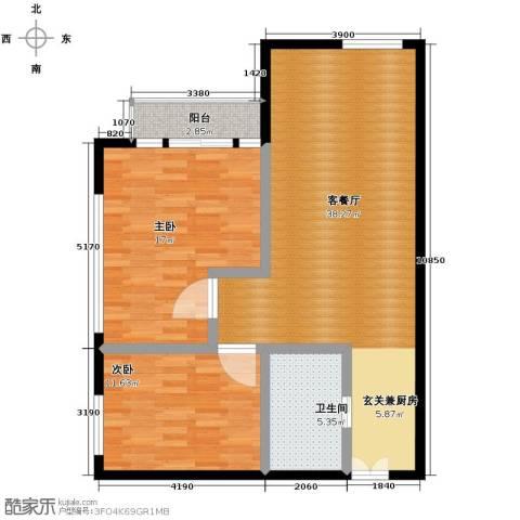 塞纳公馆97.00㎡户型图