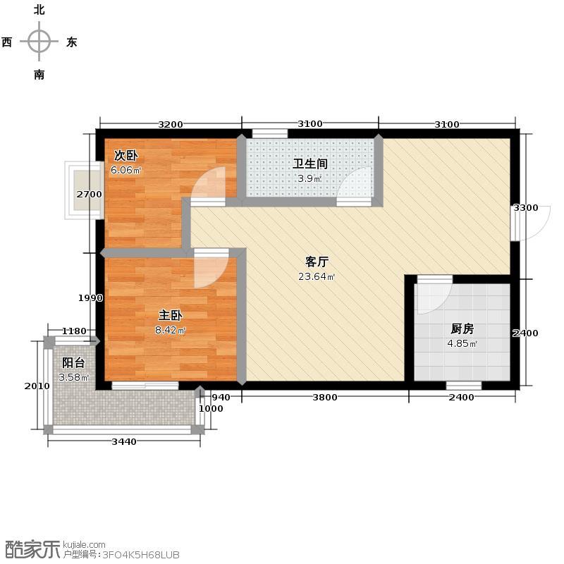 瑞丰新欣城73.80㎡11号楼C户型10室