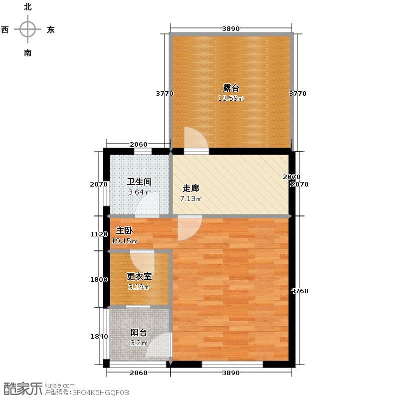 天鹅堡234.00㎡J3端三层户型10室