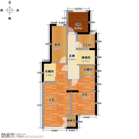 晶城秀府7室4厅4卫0厨71.34㎡户型图