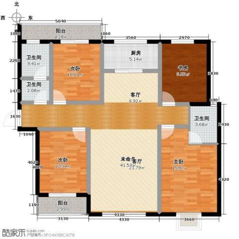 翠堤春晓4室2厅2卫0厨162.00㎡户型图