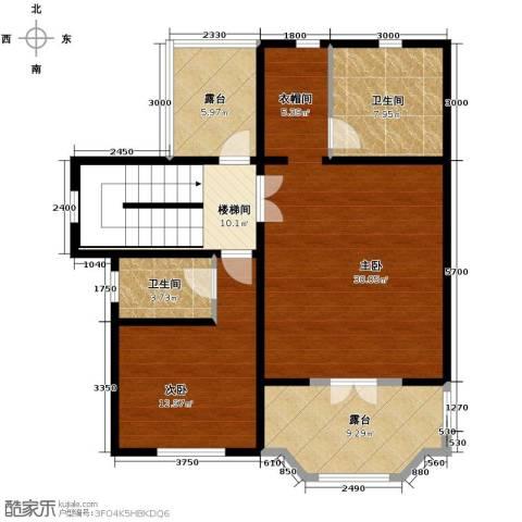 团泊湖庭院112.00㎡户型图