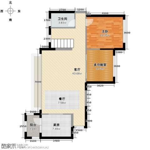建发中央鹭洲6室2厅3卫0厨145.00㎡户型图