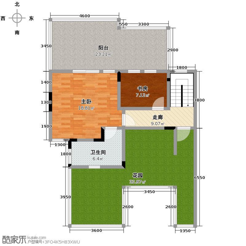 8号公馆168.00㎡B-8a户型4室2厅2卫