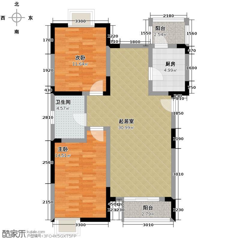 小镇西西里97.75㎡四期A1-户型10室