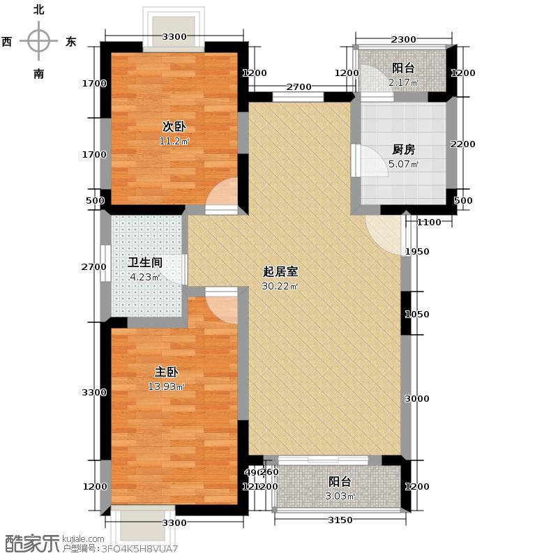 小镇西西里99.29㎡四期B1-户型10室