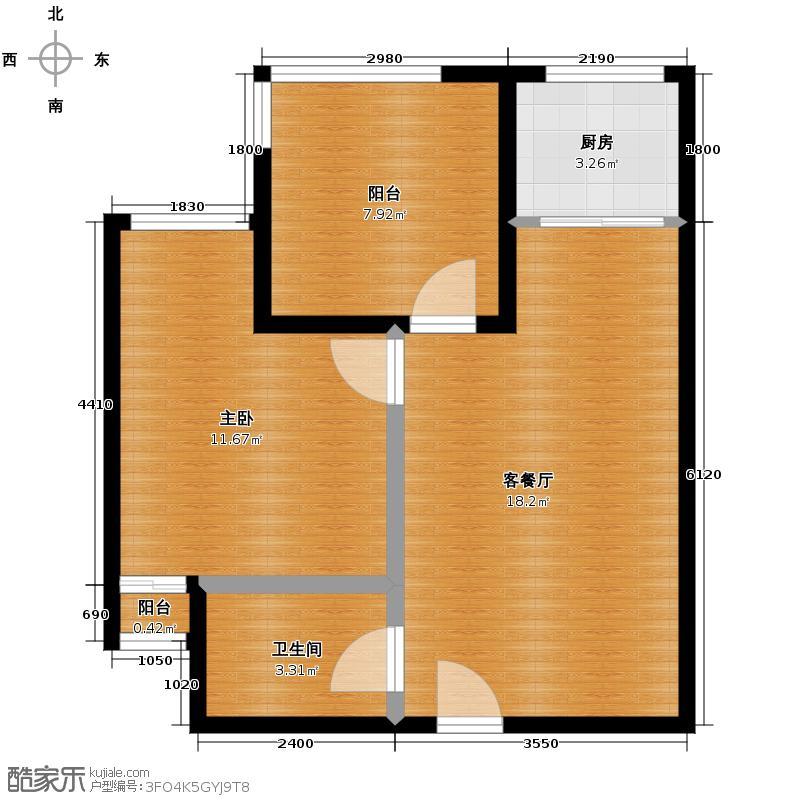 江林公园里42.00㎡户型10室