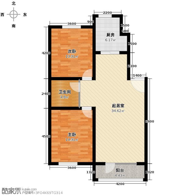 华韵欧风博文苑97.31㎡――户型10室