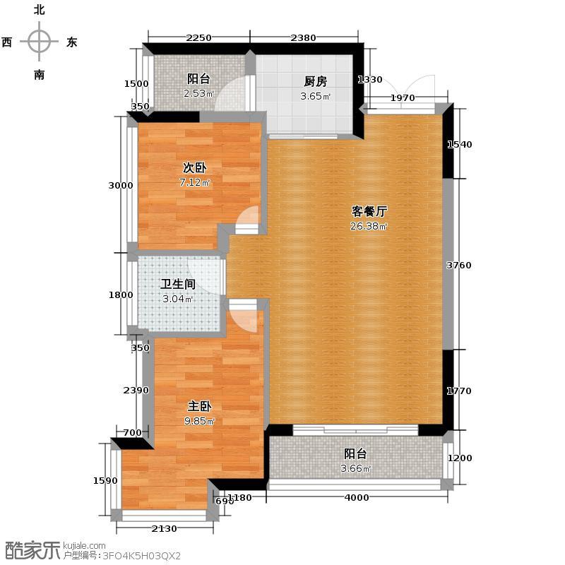 中亿阳明山水67.67㎡--51套户型10室