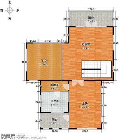 康城暖山1室0厅1卫0厨118.16㎡户型图