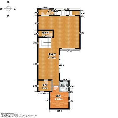 翠金湖美墅岛4室2厅3卫0厨234.00㎡户型图