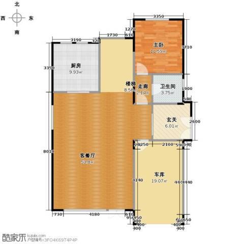 艾维诺森林1室2厅1卫0厨116.00㎡户型图