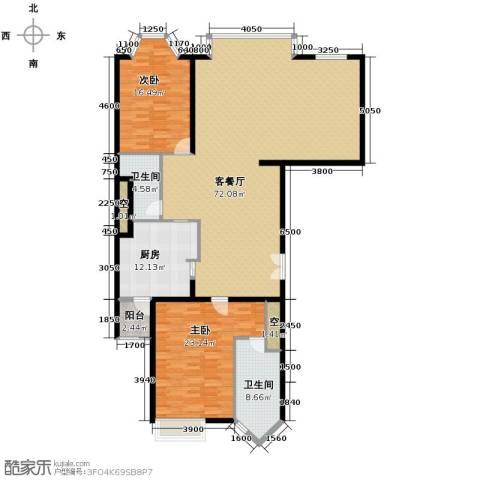 公园18722室2厅1卫0厨196.00㎡户型图