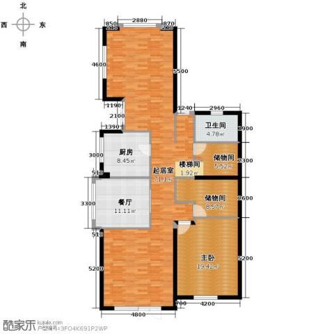 滨海湖3室2厅2卫0厨170.00㎡户型图