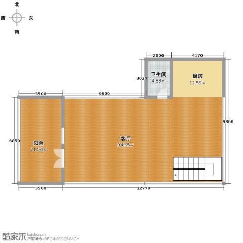 官邸3号163.00㎡户型图