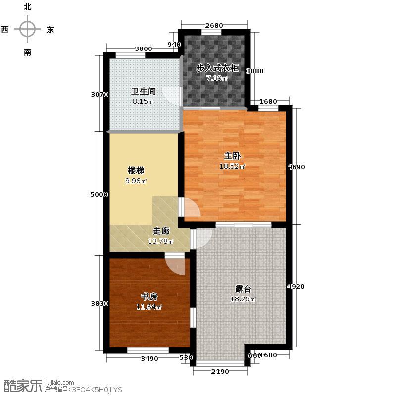 卓越蔚蓝海岸322.99㎡别墅18#102三层户型5室3厅3卫
