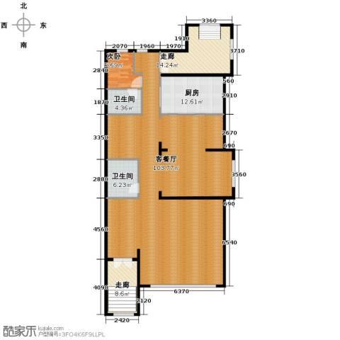 远洋戛纳小镇1室1厅2卫0厨270.00㎡户型图