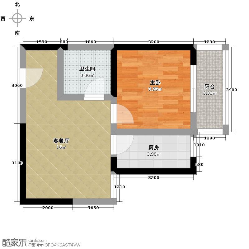 格兰逸境42.97㎡户型10室