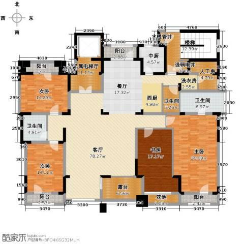 麦迪逊花园二期4室2厅3卫0厨252.00㎡户型图