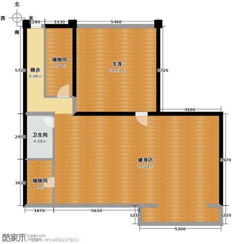 曲江公馆和园121.07㎡户型图