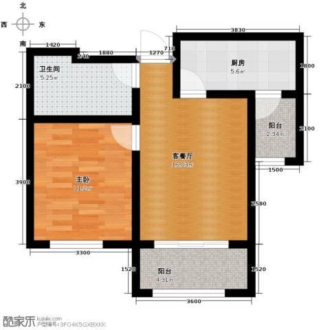 喜蜜湾1室1厅1卫0厨72.00㎡户型图