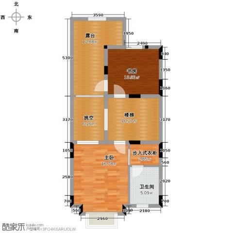 隆鑫72府2室0厅1卫0厨166.00㎡户型图