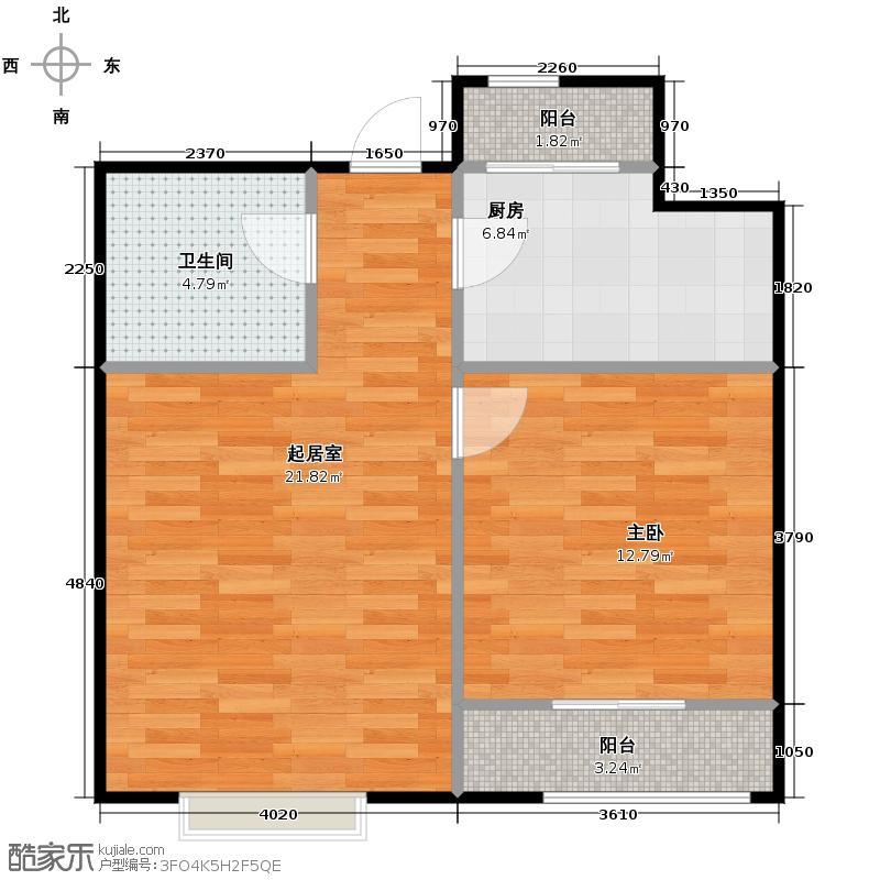 小镇西西里61.18㎡四期C2-户型10室