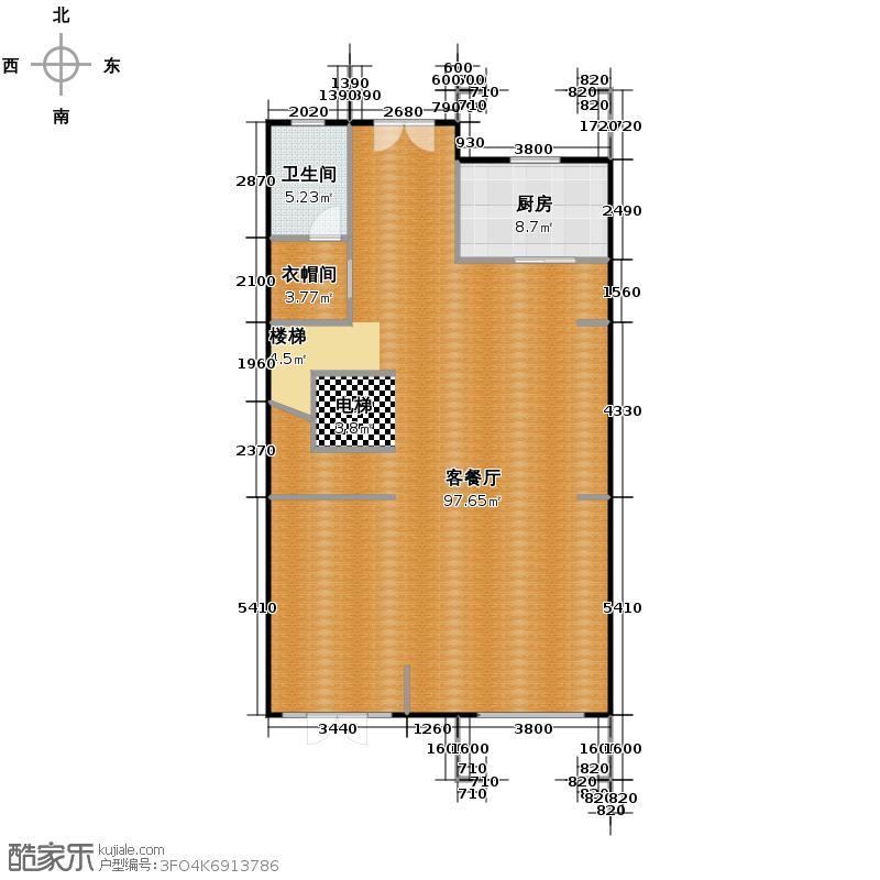金科王府397.82㎡36-4-2首层户型10室